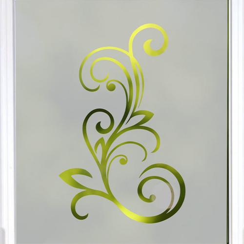 Simple Elegant Floral Swirl