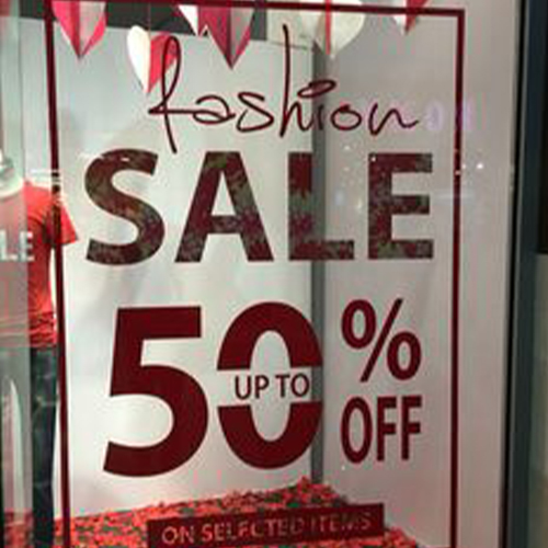 Fashion Sale 50%