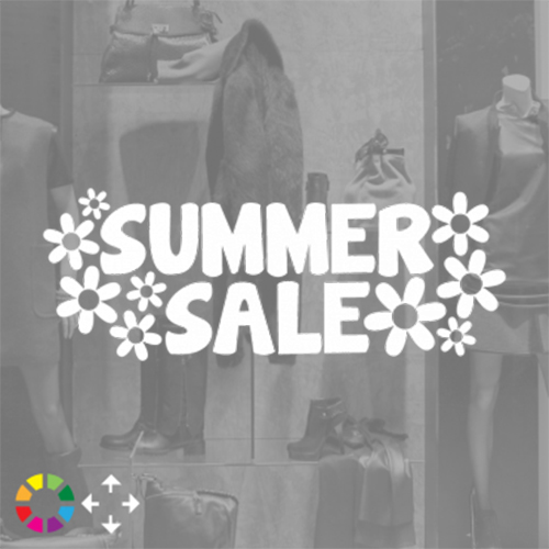 Summer sale With Flowers