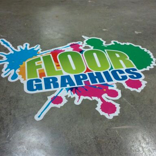 Customized Floor Graphics