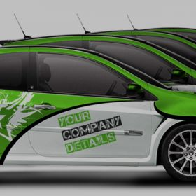 Automotive Vehicle Wraps and Branding