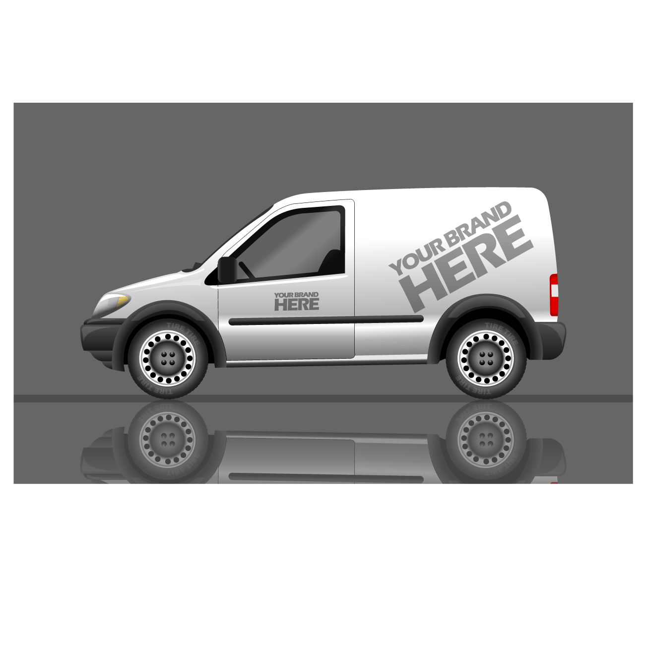 Corporate vehicle branding in Durban