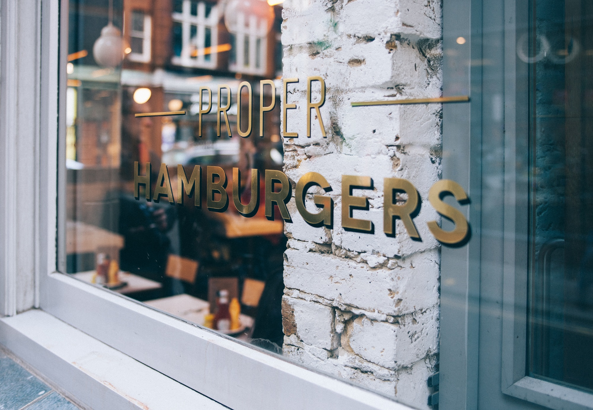 Signage for restaurant