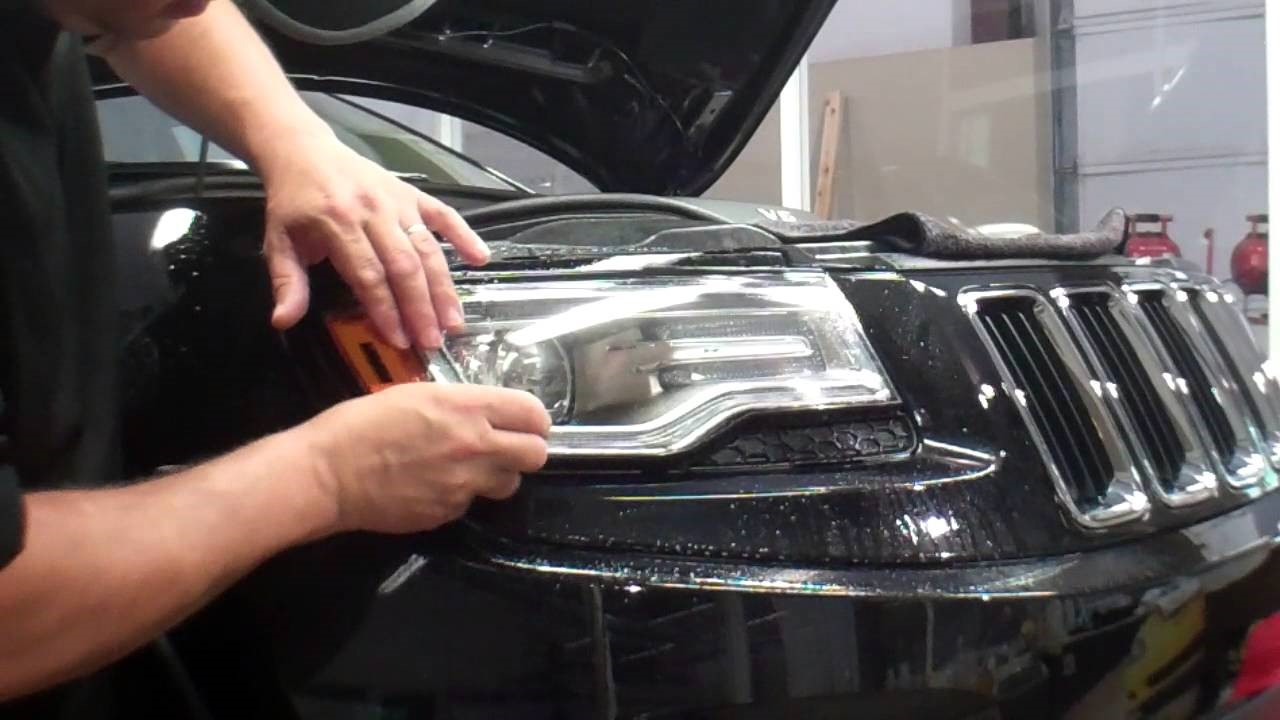 Vehicle Headlight Protection Film