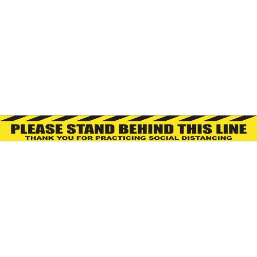 Please Stand Behind This Line